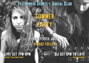 TSSC summer party 2019