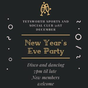 TSSC New Year's Eve party